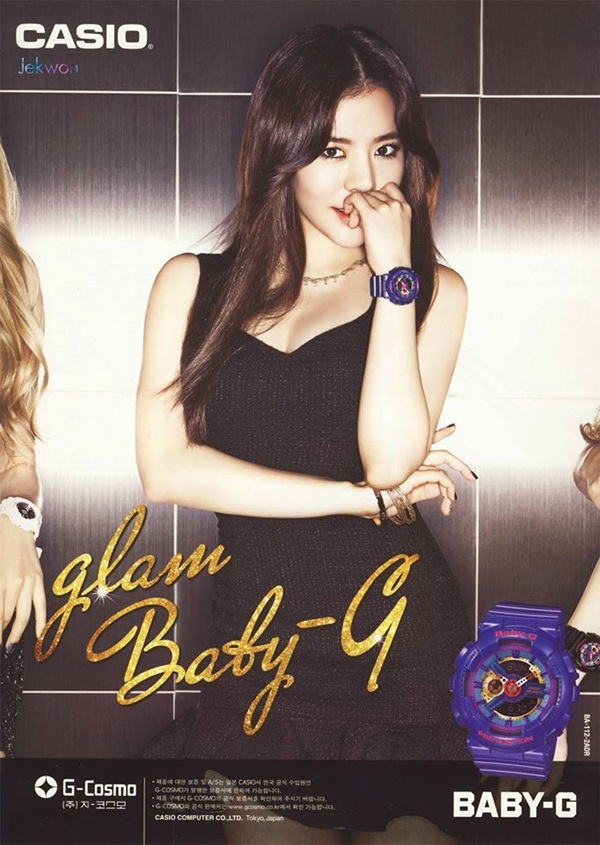 snsd-quang-cao-dong-ho-casio-4